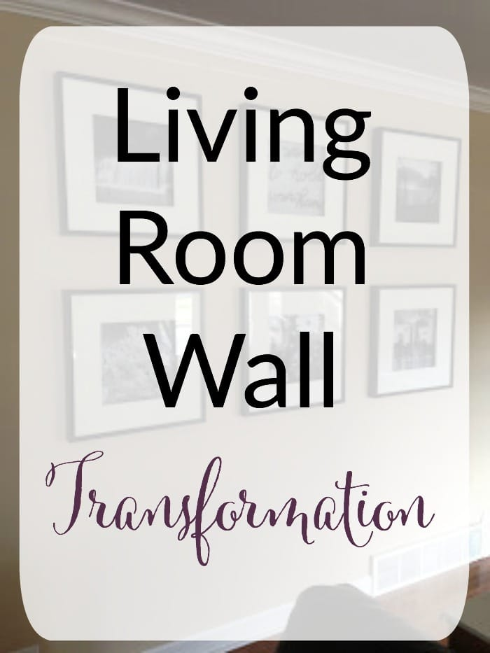Living Room Wall Transformation