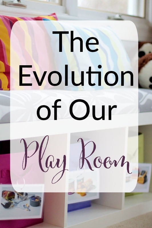 evolution of our play room