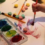 Toddler Craft: Painting With Water Colors