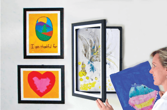 Storing Children's Artwork - Lil Davinci Kid Art Frames