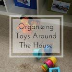 Organizing Toys Around The House