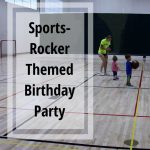 Sports Rocker Themed Bday Party