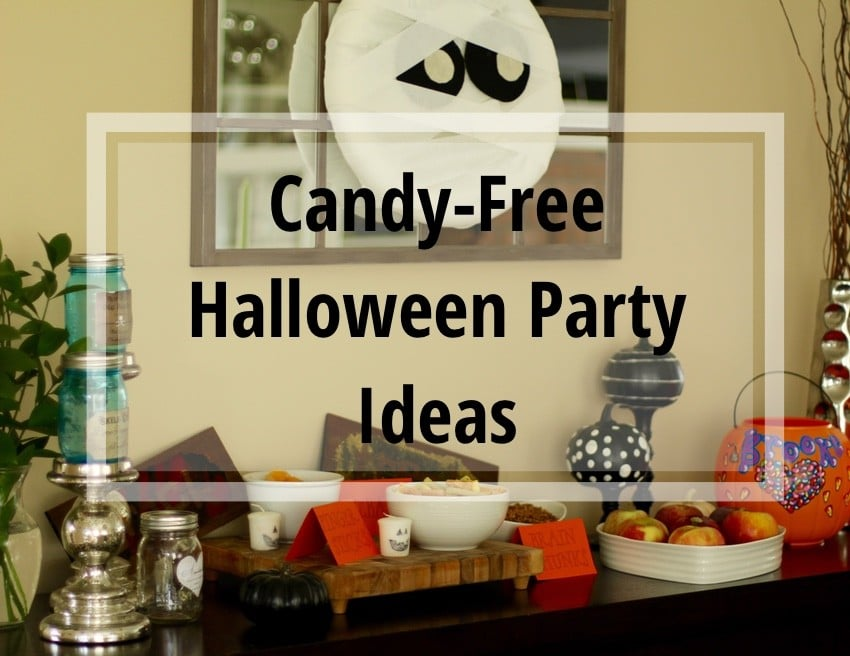 Candy-Free Halloween Party Ideas