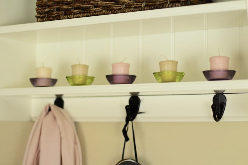 Candles And Shelves