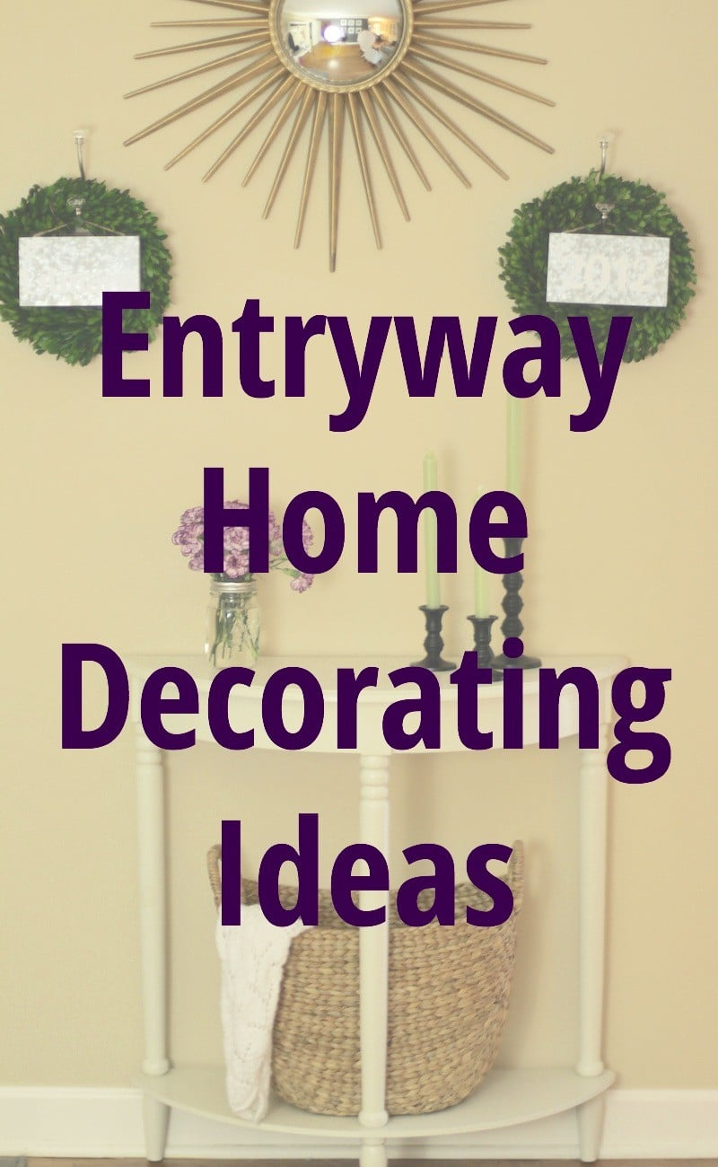 Entryway Home Decor Ideas