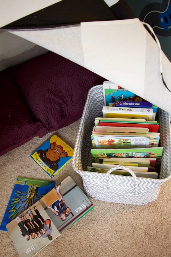 Book Storage Play Room