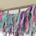 No-Sew Fabric Bunting Tutorial