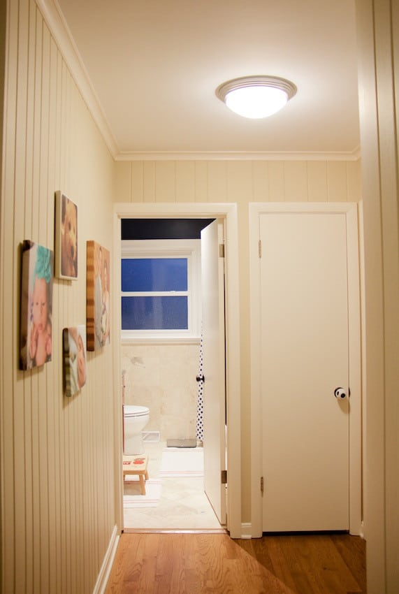 Hallway Lights & Finding The Perfect Lights To Brighten Our Hallways - The Organized Mama