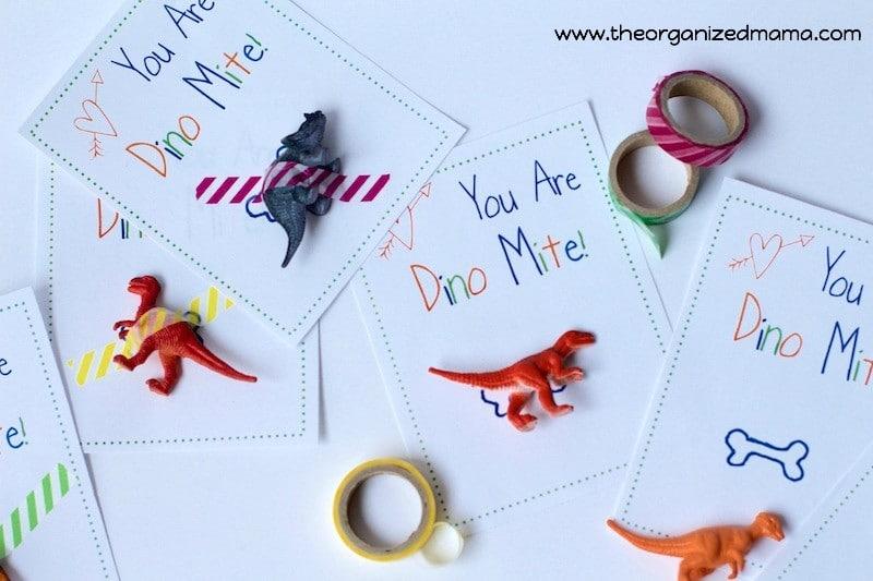 You Are Dino Mite Valentine's Cards