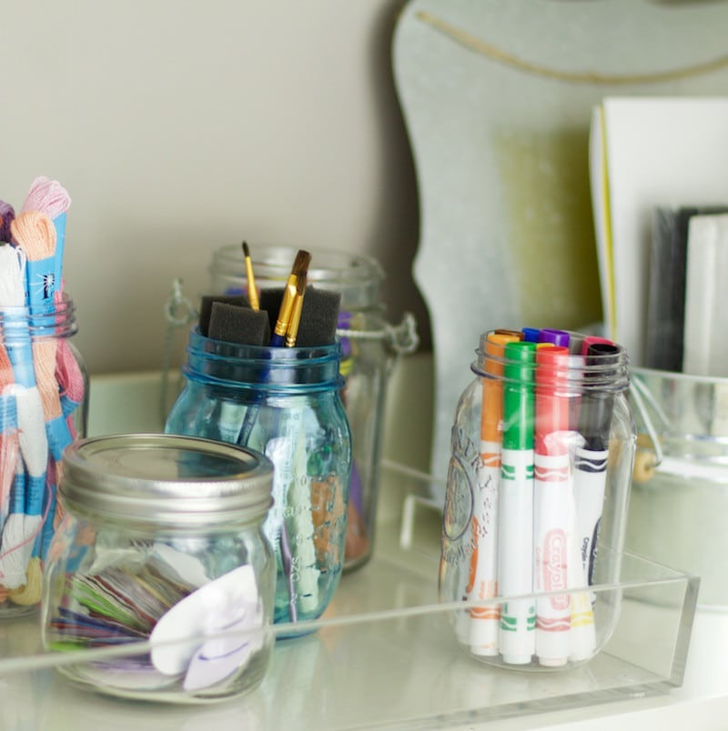 How to organize craft supplies the organized mama for How to organize craft supplies