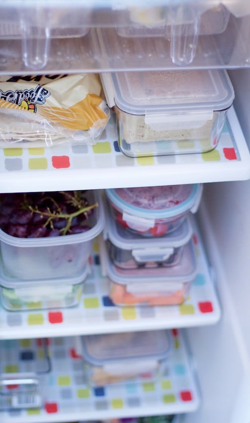 Organize Fridge and Freezer