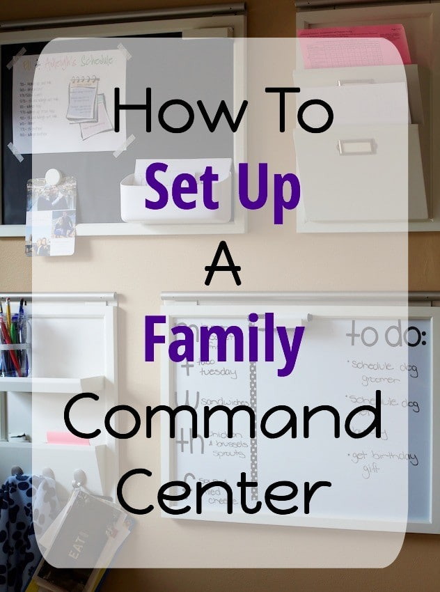How To Set Up Command Center