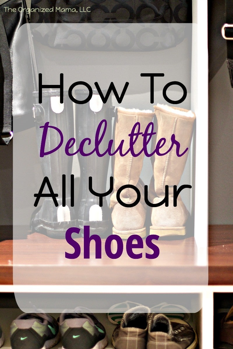 How To Declutter All Your Shoes