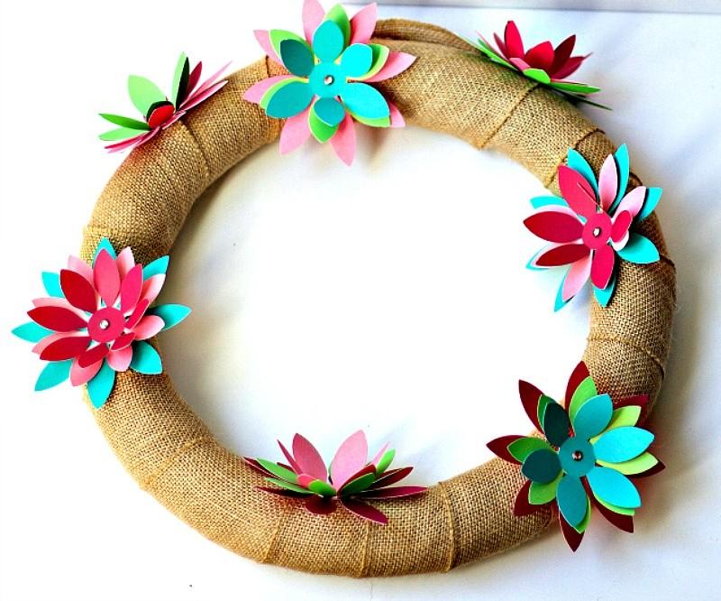 Spring Flower Wreath