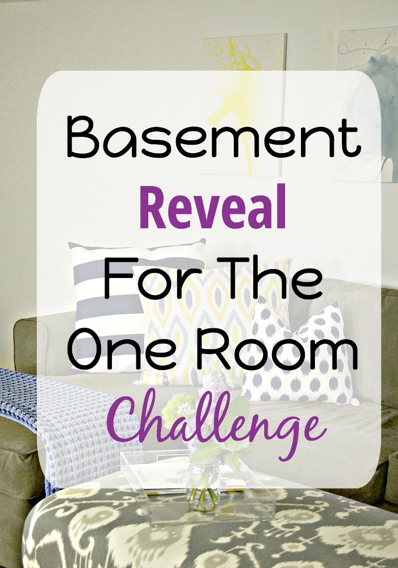Basement Reveal For One Room Challenge