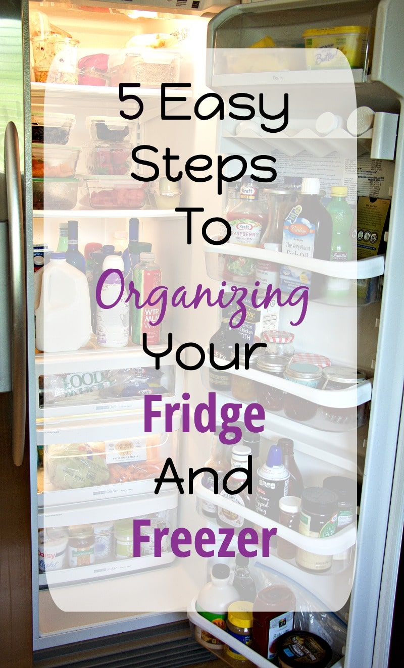 5 Steps To Becoming Wealthy: 5 Easy Steps To Organize Your Fridge And Freezer