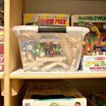 Bins Game Closet