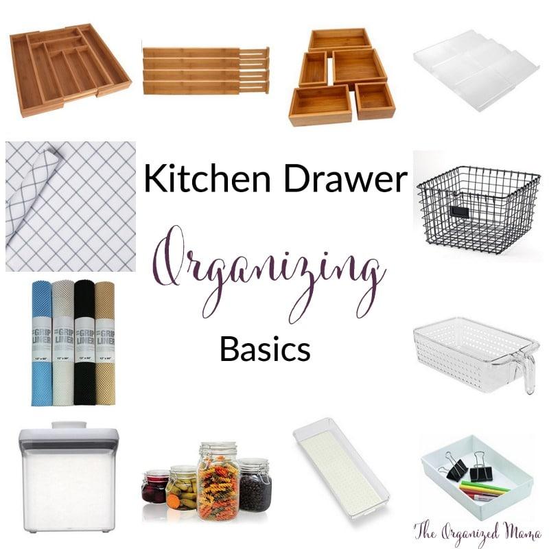 Kitchen Drawer Organizing Basics