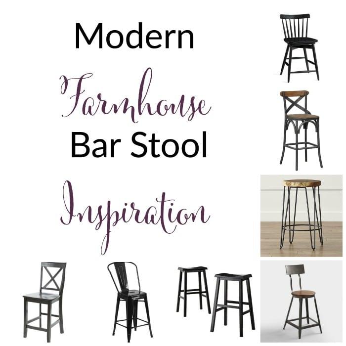 Farmhouse Style Bar Stool Inspiration The Organized Mama