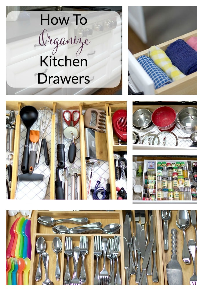 Home the organized mama How to organize kitchen drawers