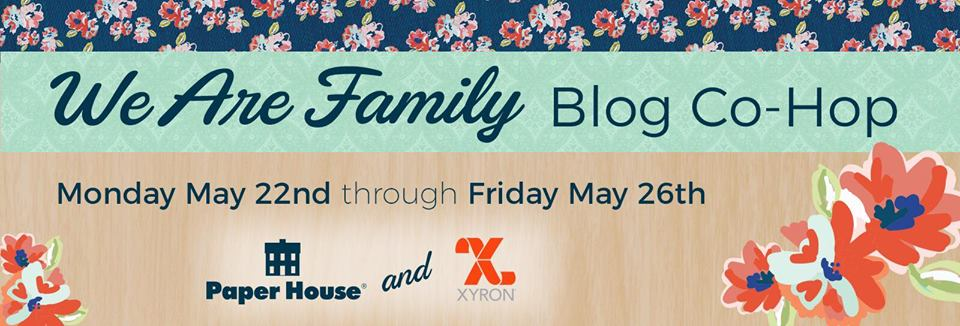 xyron paper house blog hop