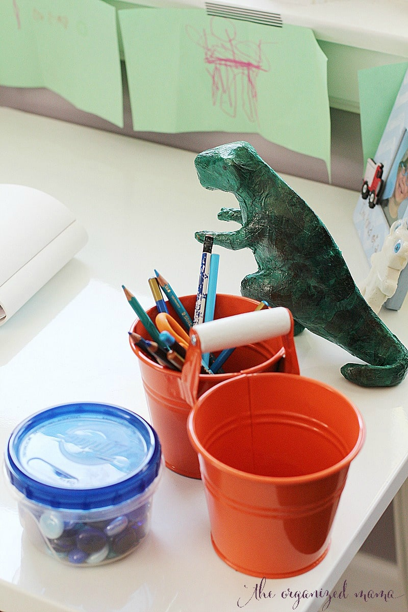 Art Supply Organization For Kids