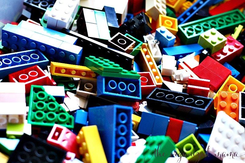 Lego Organizing Ideas
