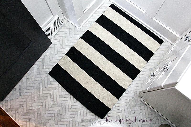 modern farmhouse bathroom floor
