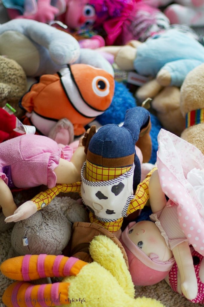 How To Organize Stuffed Animals