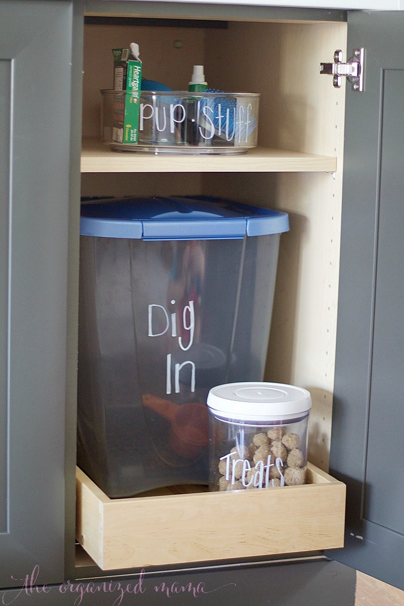 Easiest Ways To Organize Pet Supplies The Organized Mama