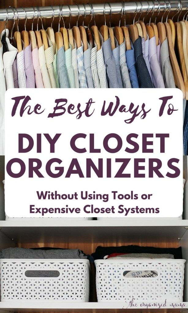 Without Using Any Tools, You Just Created Major Space In Your Closet With  These DIY Closet Organizer Ideas! Use The Dresser And File Fold Clothes.