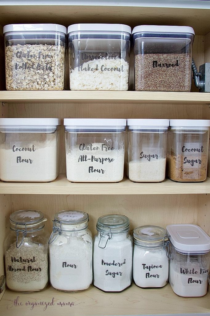 How To Quickly Organize Baking Supplies