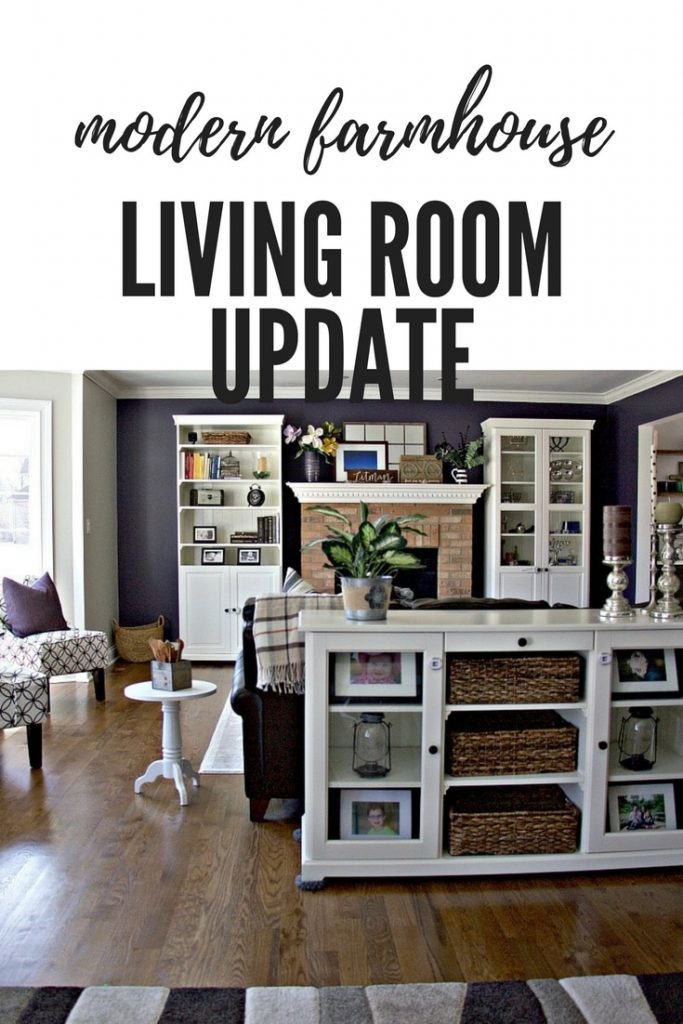 Modern Farmhouse Decor Living Room Update