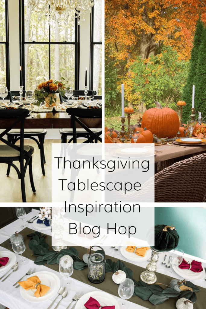 thanksgiving tablescape inspiration blog hop
